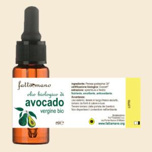 Olio di avocado biologico spremuto a freddo