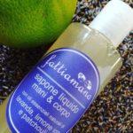 sapone liquido potassico naturale lavanda limone e patchouli