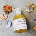sapone liquido vegetale per le mani lavanda e arancio dolce di sicilia
