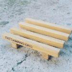 portasapone in legno naturale