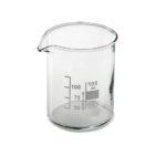 beaker pyrex bicchiere vetro borosilicato 100 ml