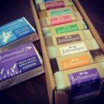 scatola da 10 saponi misti tutti i gusti