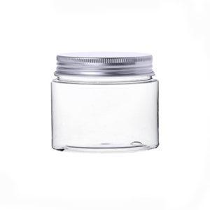 barattolo pet trasparente tappo alluminio