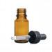 boccetta vetro ambrato con tappo pipetta con sigillo di garanzia