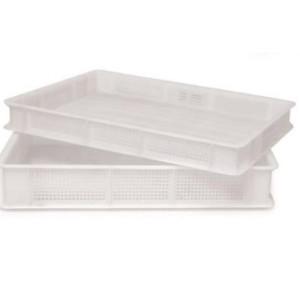 cassetta plastica forata per trasporto e stagionatura del sapone
