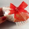 pecora di sapone su bancalino di legno san valentino