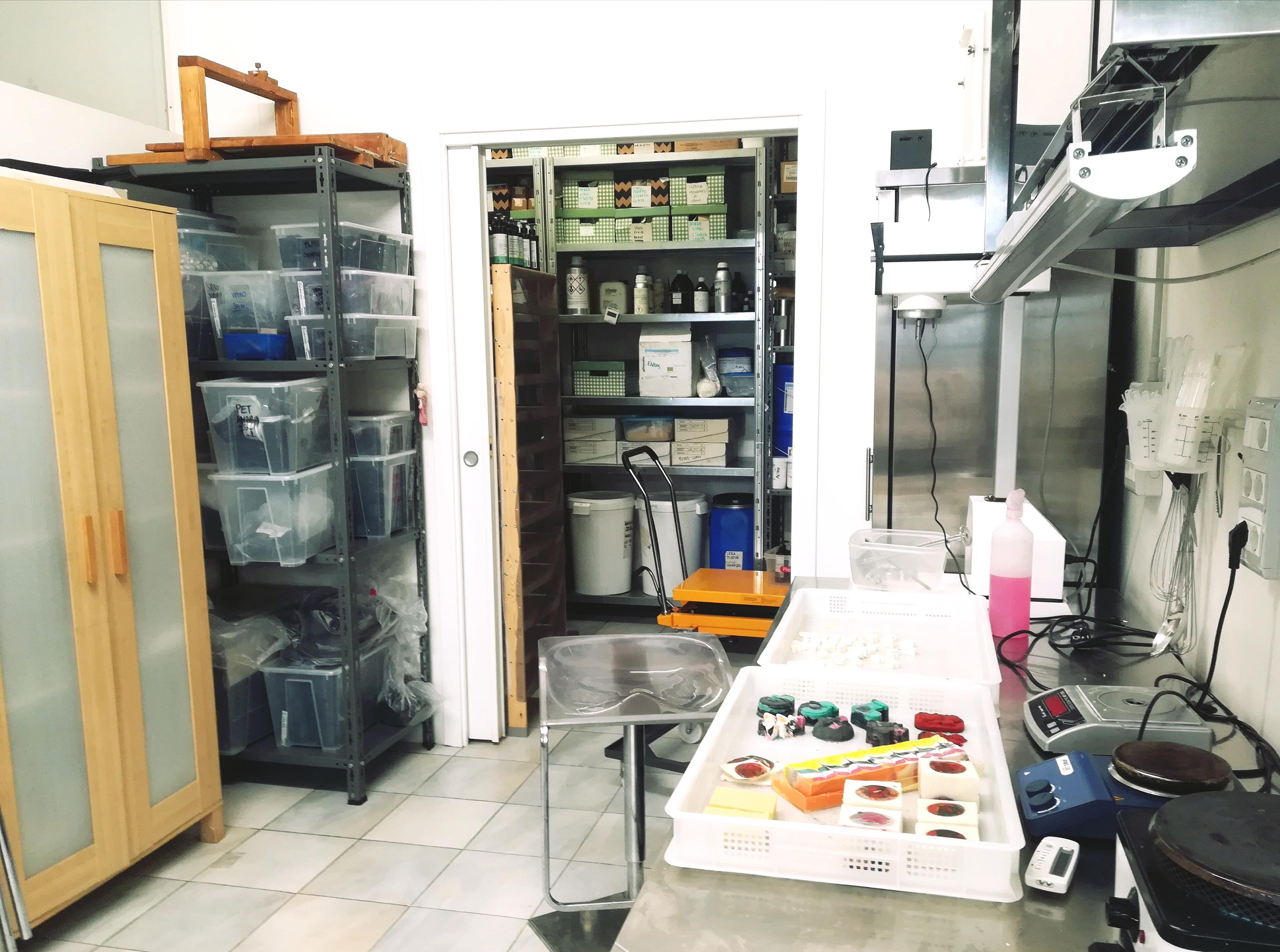 Laboratorio di cosmesi naturale