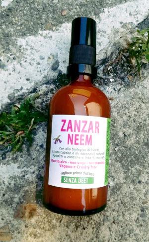 zanzarneem spray antizanzare naturale con olio di neem e litsea cubeba