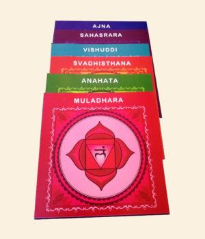 Le carte dei sette chakra