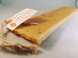 Lingua di sapone arancio e carota bio