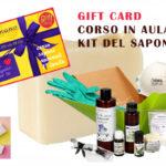 gift card corso in aula + kit del saponaio completo